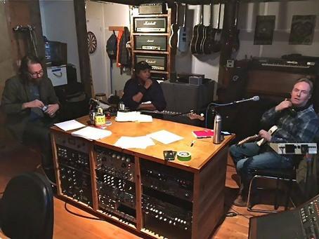 Recording in April