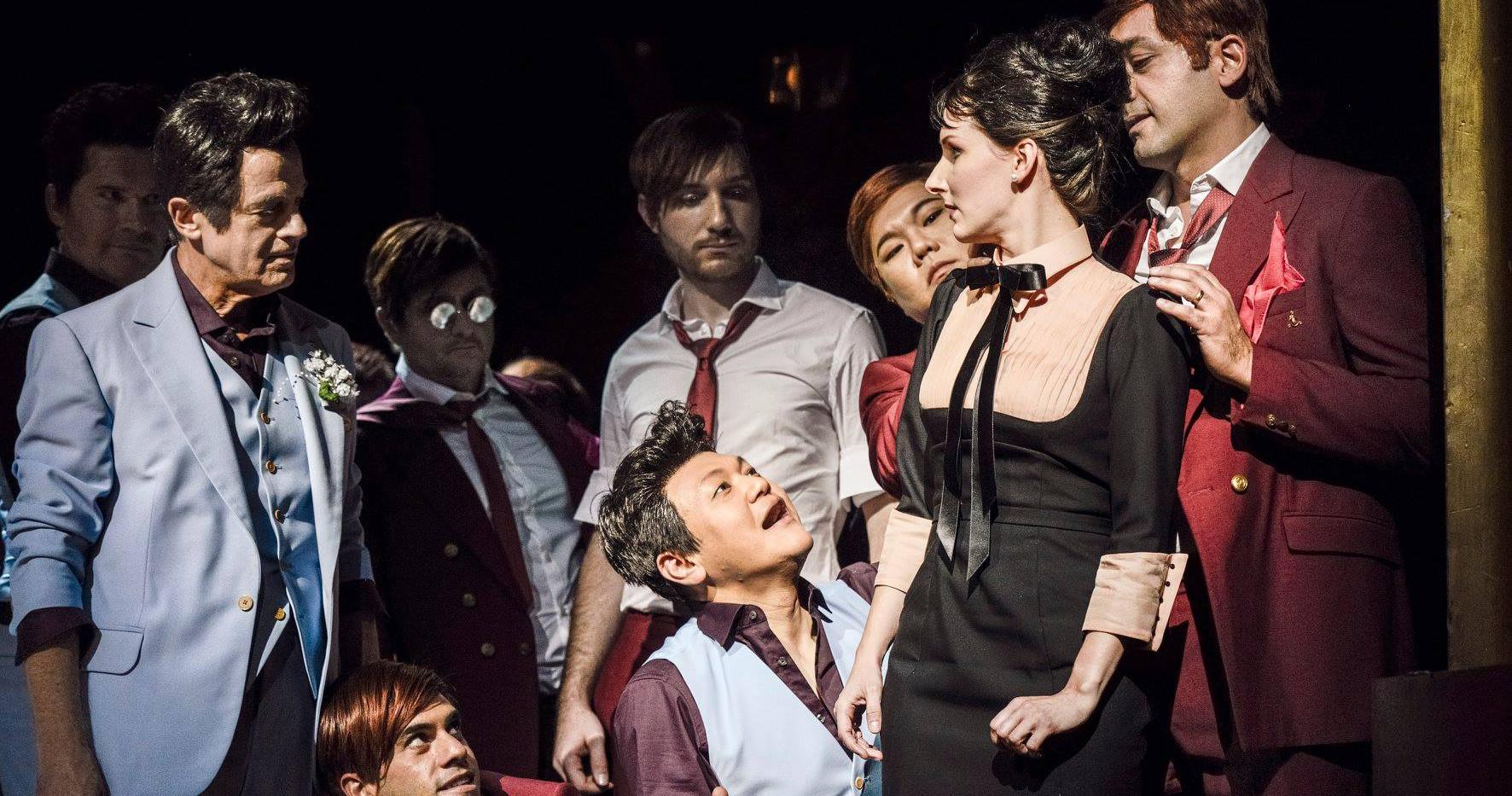 Despina in Mozart's Cosi fan tutte