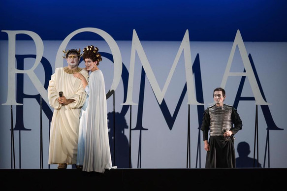 As Celia in Mozart's Lucio Silla