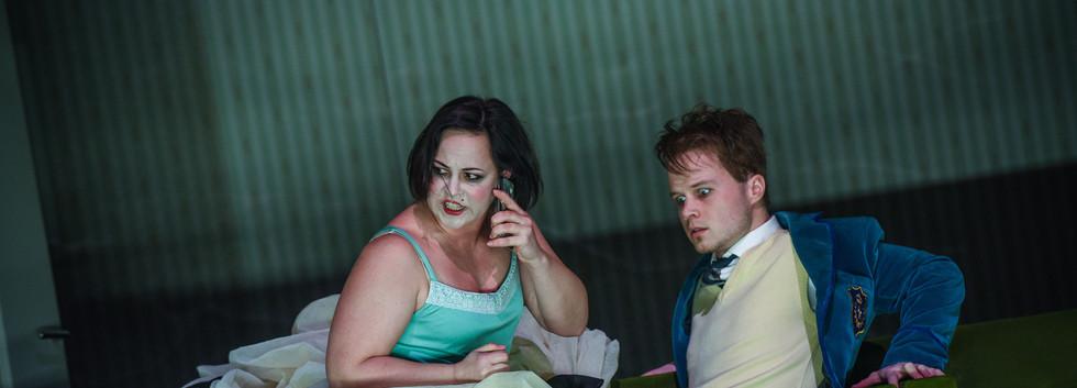 P. Boesmans' opera Reigen in the role Der Graf