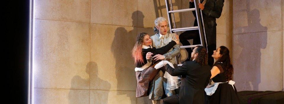 As Barbarina in Le nozze di Figaro