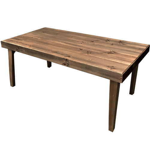 Farm Table with Tapered Leg