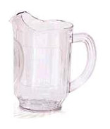 60 oz clear continental pitcher