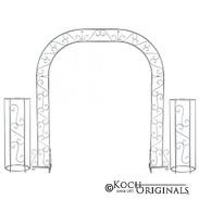 Wedding Arch Silver