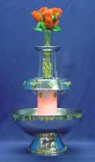 Gold Trim Punch Fountain, 7 gal