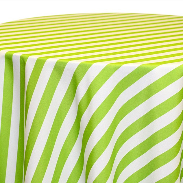 Awning Stripe-Lime