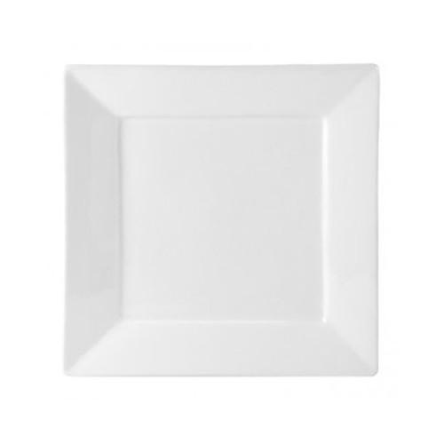 White Square Salad Plate