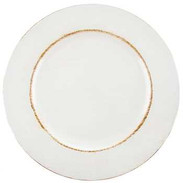 White & Brown Plate Charger