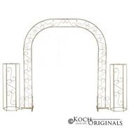 Wedding Arch Brass