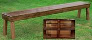 """Farmhouse Bench 90"""" x 13.5"""""""