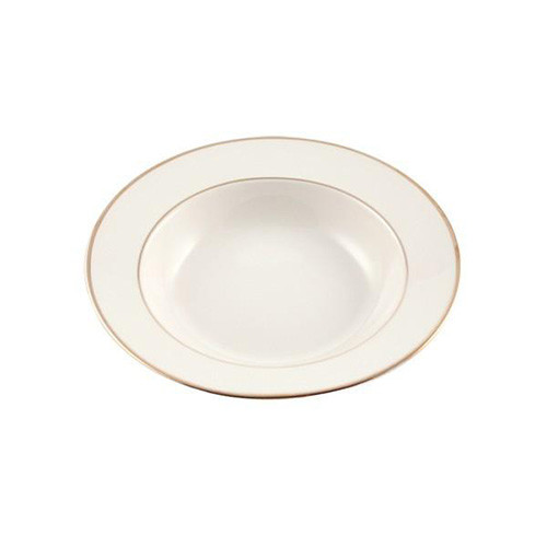 Gold Rim Soup Bowl