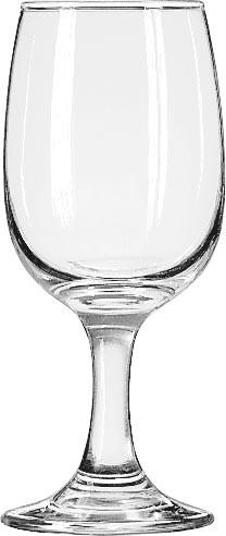 Tall Wine Glass, 8.5 Oz