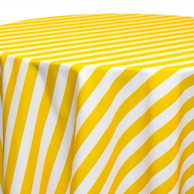 Awning Stripe-Lemon