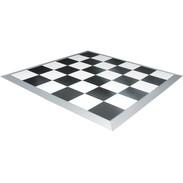 B&W Checkerboard Dance Floor