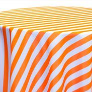 Awning Stripe-Tangerine