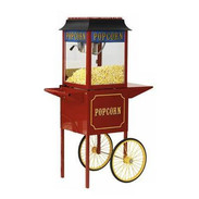 Popcorn Machine on Cart