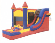 Castle Bounce House Wet Dry