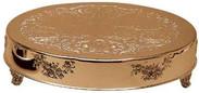 """Round Gold Cake Stand, 14"""", 18"""", 22"""""""