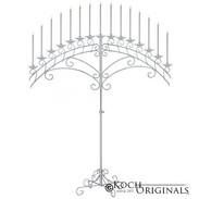 15 light fan floor candelabra silver.jpg