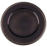 Brown Plate Charger