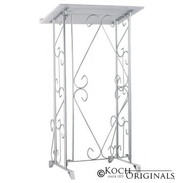 Register Stand- Silver