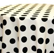 Big Dot- Black on Ivory