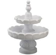 Fountain, 2-Tier Recirculating, White.jp