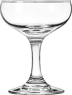 Saucer Champagne, 4.5 Oz