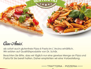 Glutenfreie Pizza und Pasta?