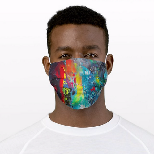 Dark Abstract Mask, FREE Shipping*