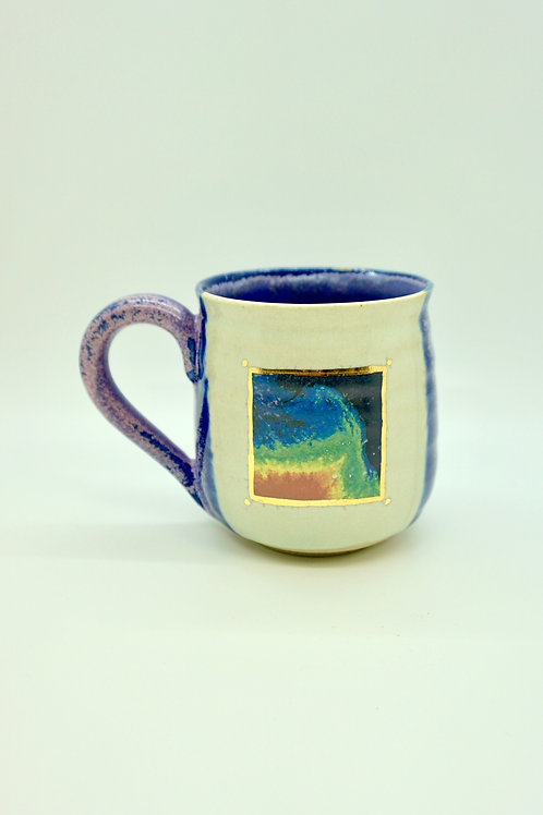 Fukishima Radiation Painting Mug