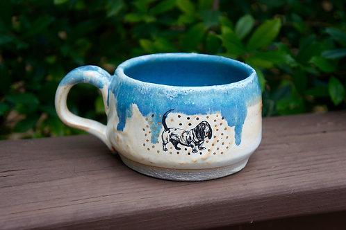 Puppy Love Basset Hound Mug