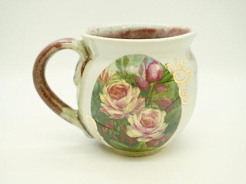 Crimson Roses Mug