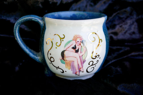 Pin-Up Mug, Love Yourself