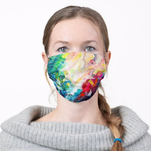 Bright Abstract Mask, FREE Shipping*
