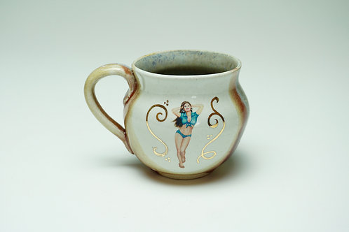 Pin-Up Mug, Bella Dama, Curvy