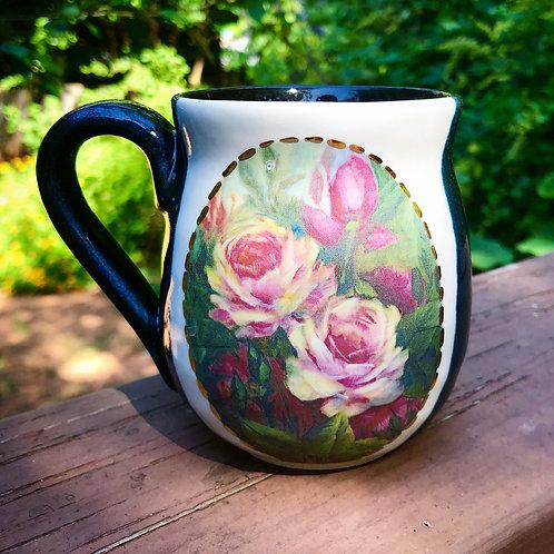 Black Roses Mug