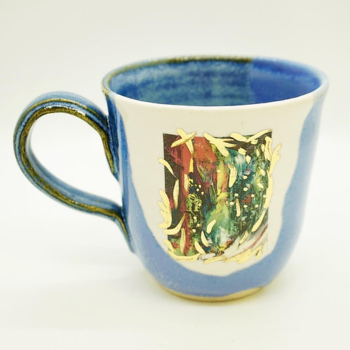 "Blue ""It's Complicated"" Mug"