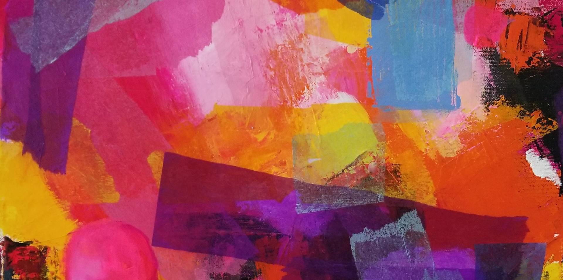 Abstract in Pink No. 1