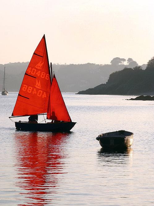 Sunset Sail - Helford River, Cornwall