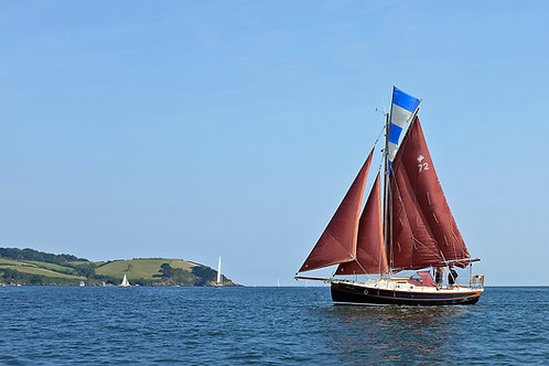 Catching The Breeze - Helford River, Cornwall