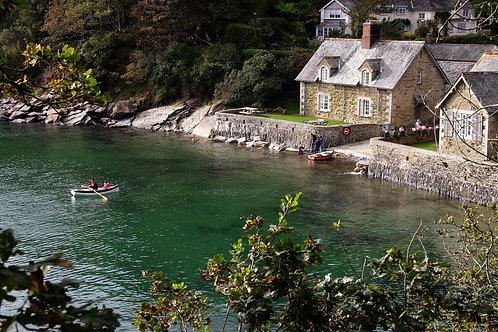 Rowing Home - Durgan, Cornwall