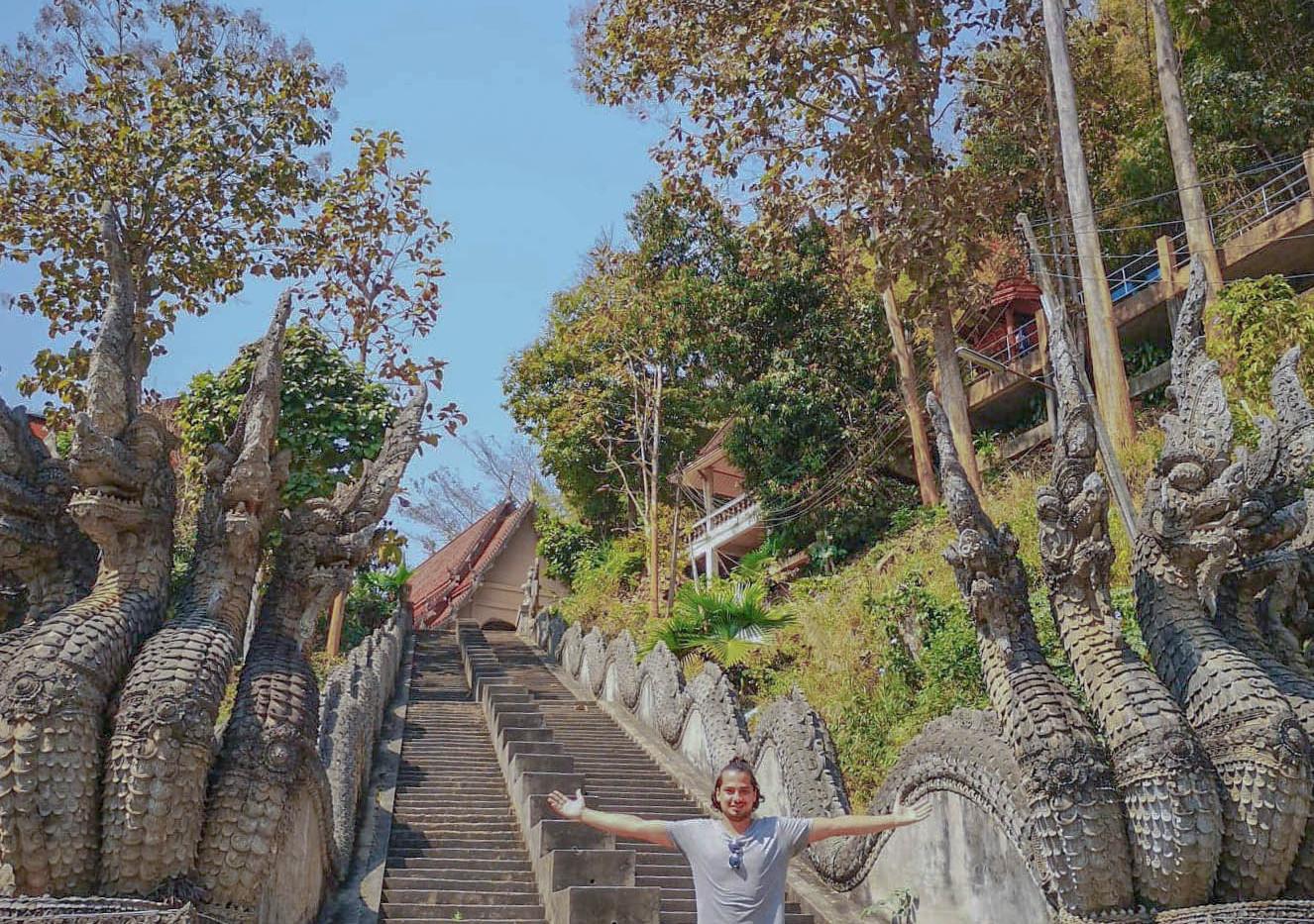 Escaliers près du Triangle d'or