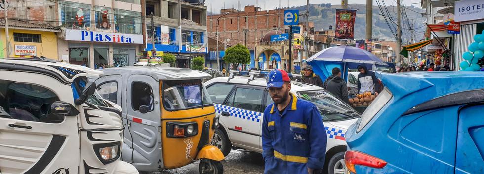 Les rues de Huaraz
