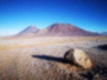 Mont Juriques et Licancabur, à la fronti
