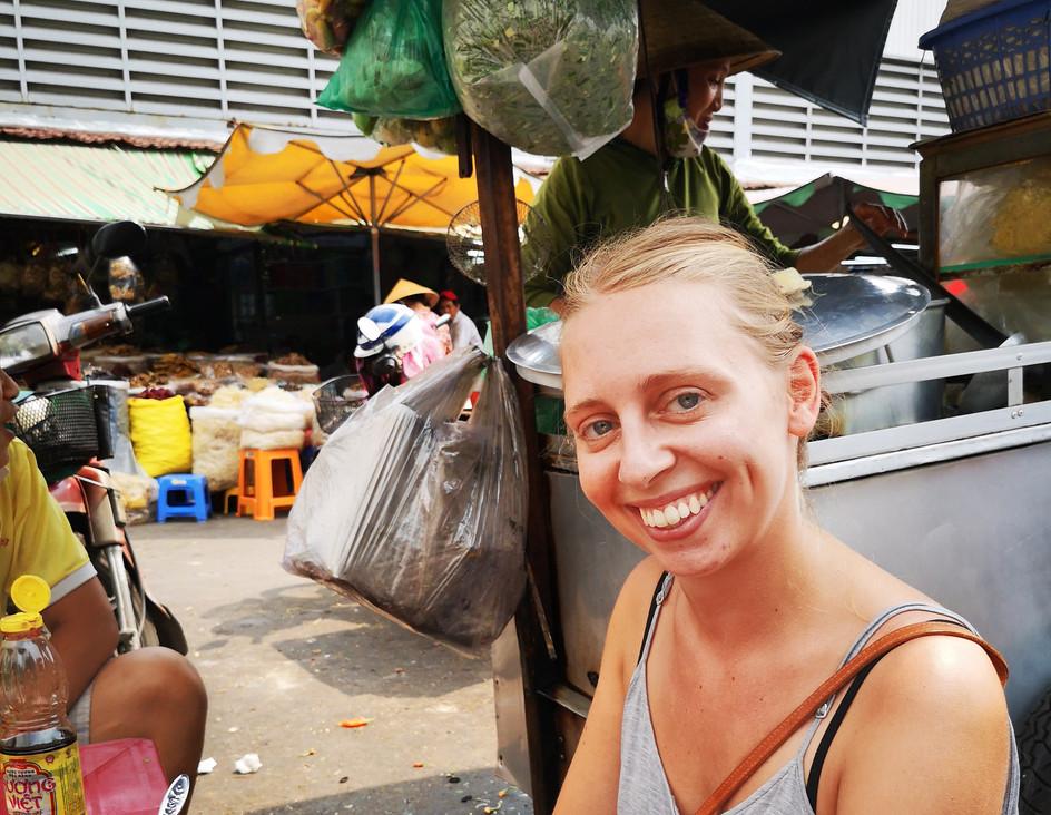 Street food à Saigon