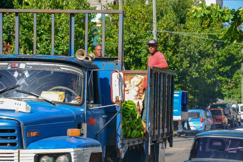 Camion dans Vedado