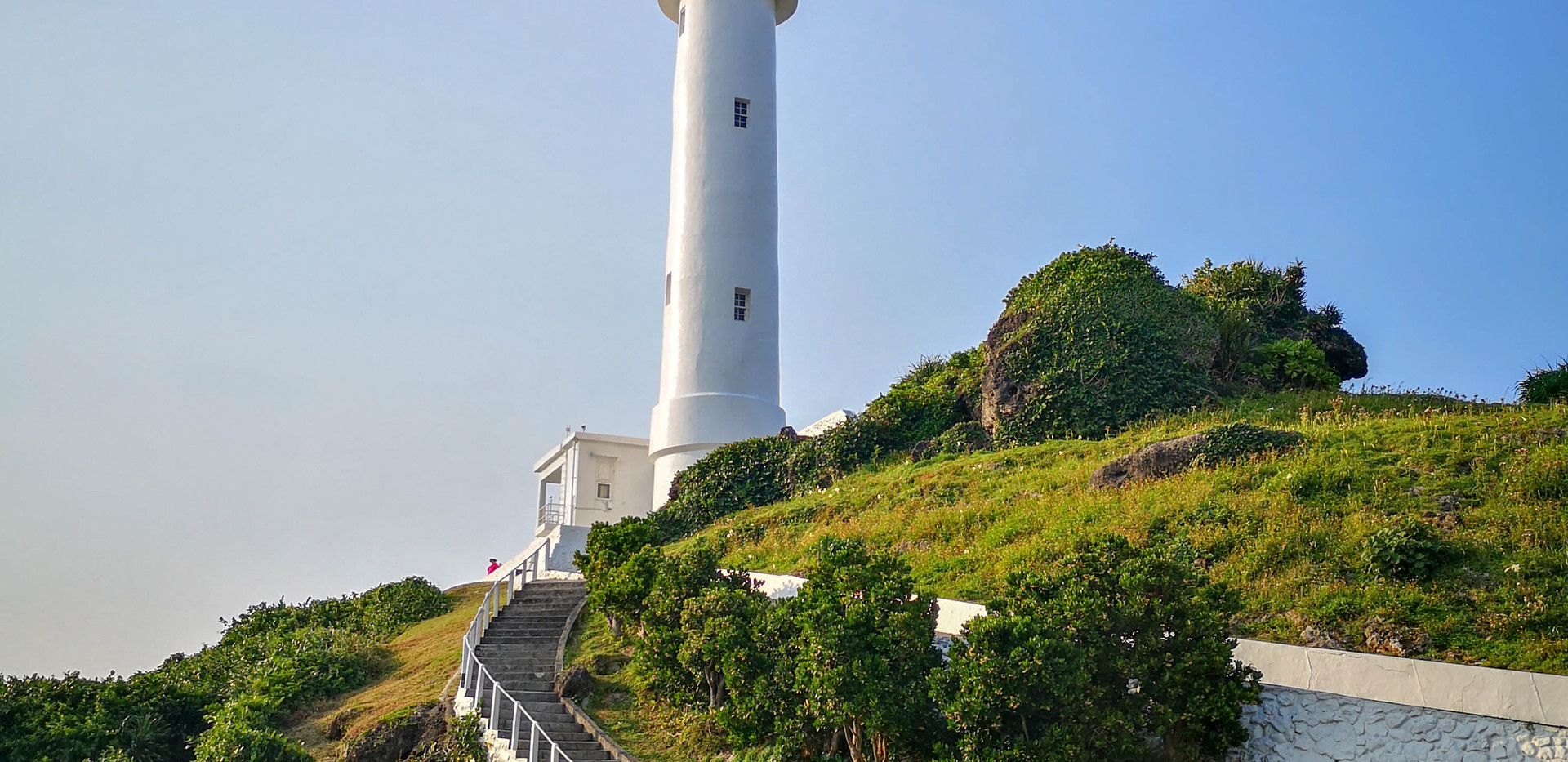 White Lighthouse, Green Island