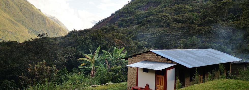 Maison sur la route du Salkantay Trek