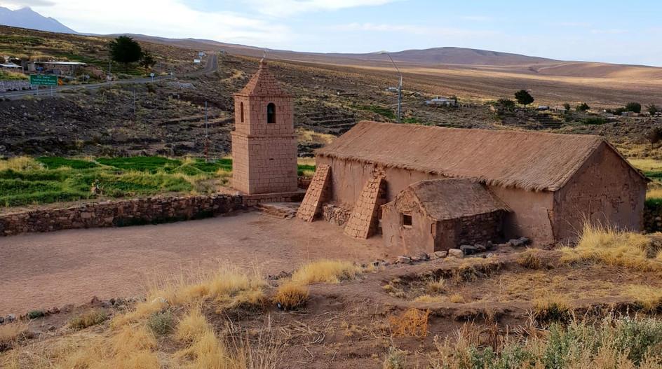 Eglise de Socaire, Atacama.